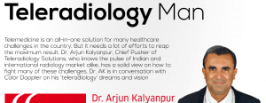 Dr. Arjun Kalyanpur - Teleradiology Man at Color Doppler