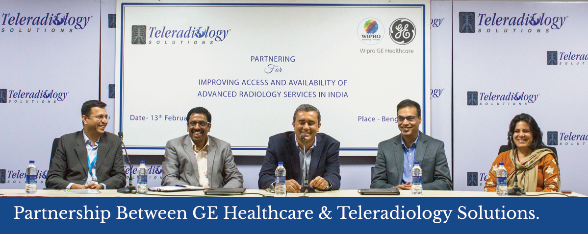 Landmark Partnership for India - Teleradiology Solutions and GE Healthcare Tieup to Improve Radiology Services