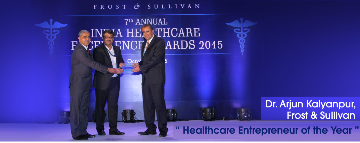 Dr.Arjun Kalyanpur - Healthcare Entrepreneur of the Year