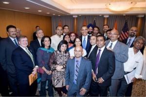 TRS showcased to President Obama