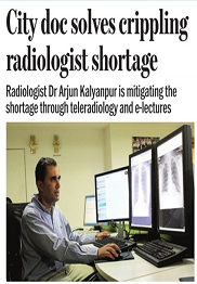 City doc solves crippling radiologist shortage