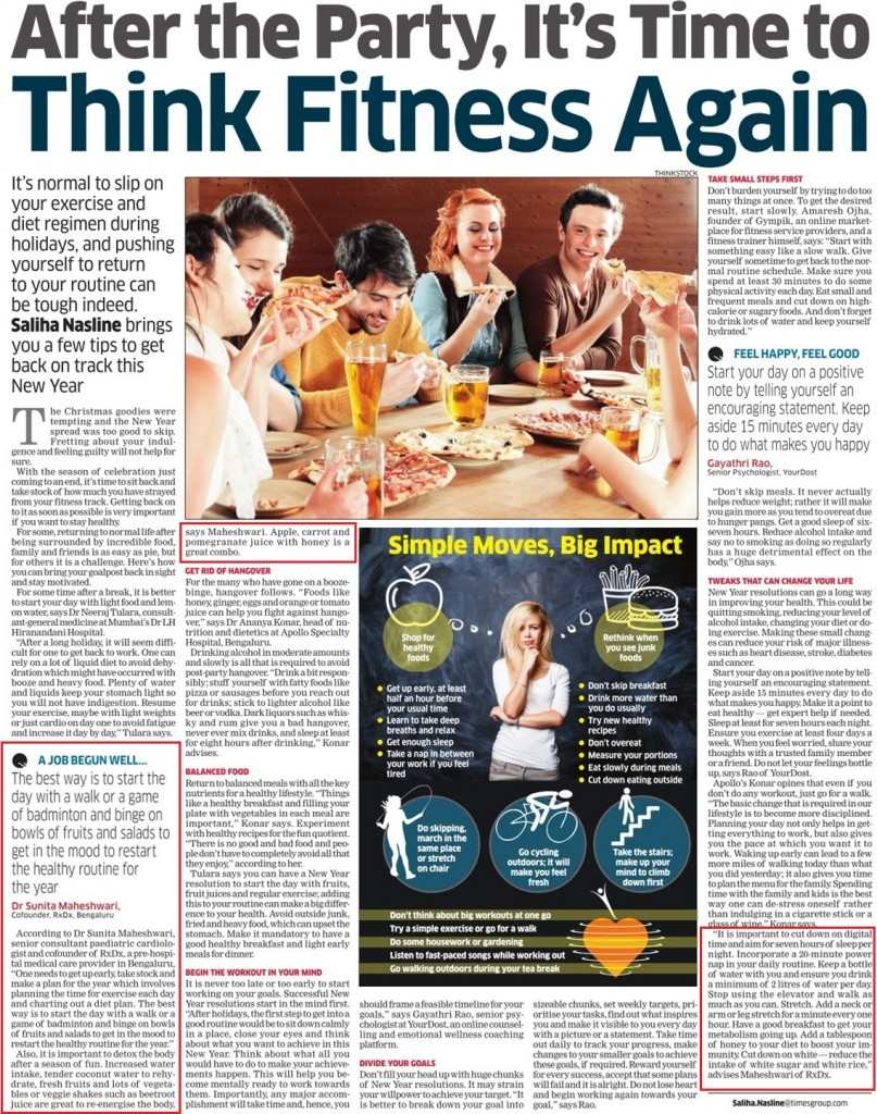 After the Party Article - Press Release Economic Times