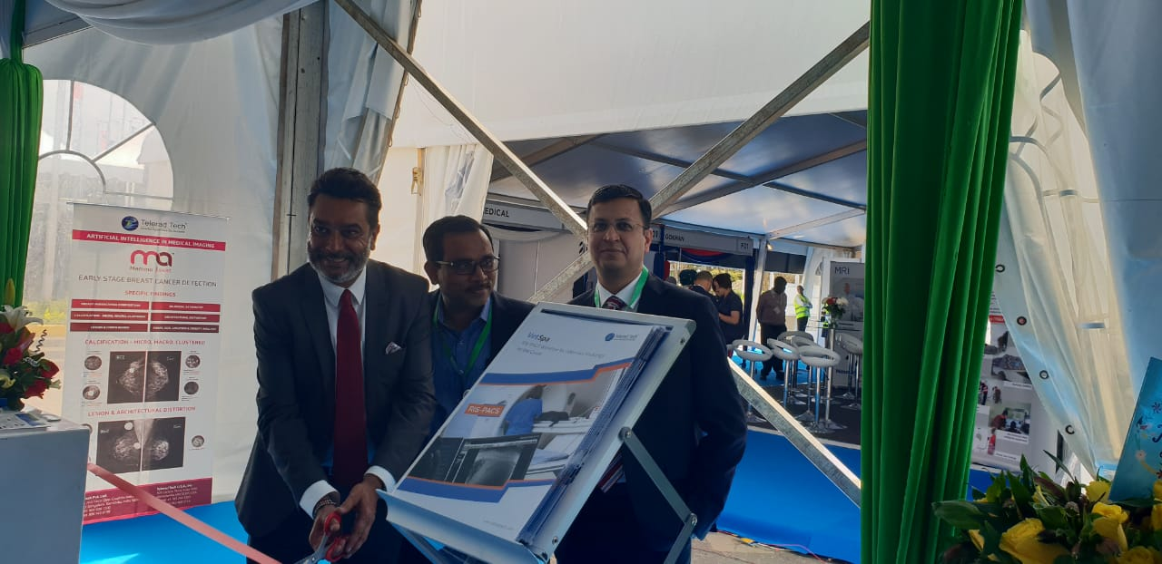 Dr. Amit N. Thakkar at our booth in Medic East Africa