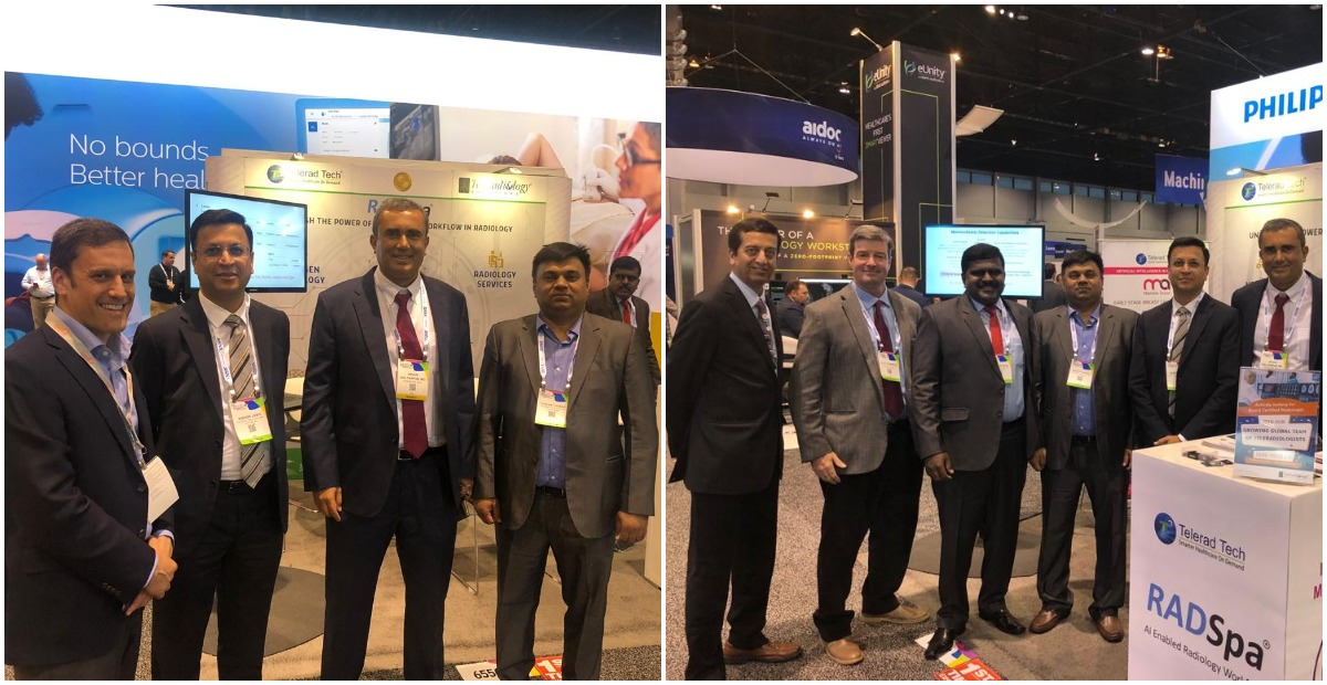 Our team at RSNA 2018
