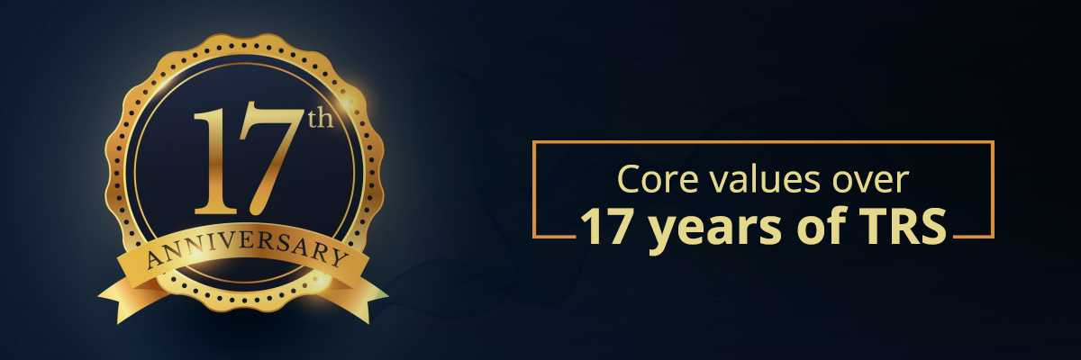 Core values over 17 years of TRS Blog