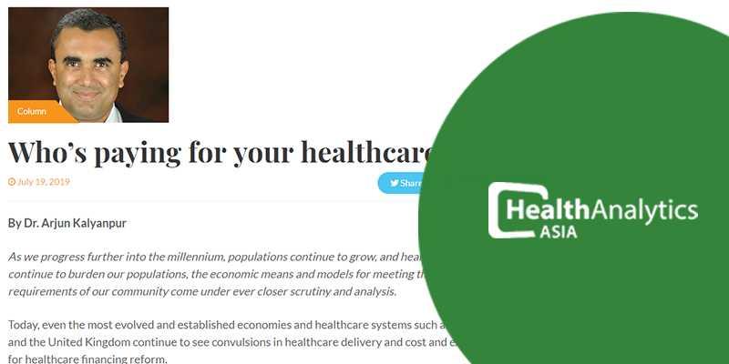 Dr Arjun Kalyanpur Health Analytics